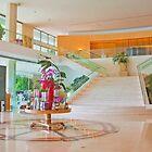 hotel lobby. miragem by terezadelpilar~ art & architecture