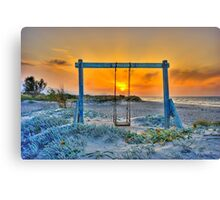 Lonely days Canvas Print