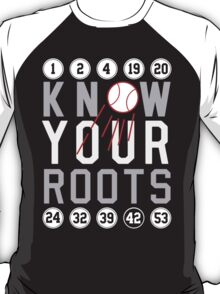 """Dodgers """"Know Your Roots"""" T-Shirt"""