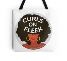 Curls On Fleek Tote Bag