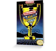 Nintendo World Championships Greeting Card