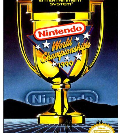 Nintendo World Championships Sticker