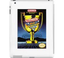 Nintendo World Championships iPad Case/Skin