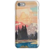 Storms over Keiisino iPhone Case/Skin