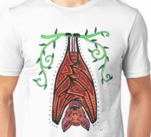 The Hanging Bat Unisex T-Shirt
