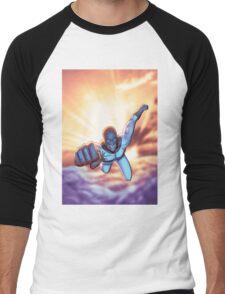 That Bulletproof Kid Soaring Men's Baseball ¾ T-Shirt