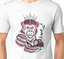 Mother and Baby Chimpanzee Unisex T-Shirt