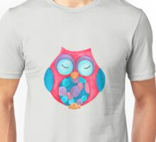 Boho the sleepy owl Unisex T-Shirt
