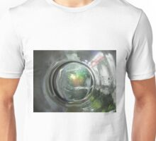 The World Through The Bottom Of A Glass Unisex T-Shirt