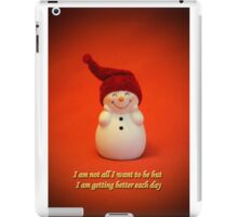 I am getting better each day :-)  iPad Case/Skin