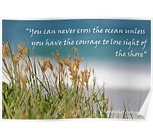 You can never cross the ocean...... Poster