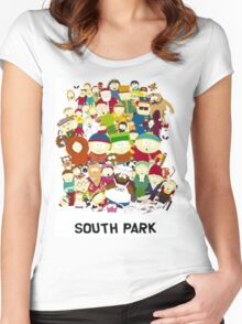 South Park Women's Fitted Scoop T-Shirt
