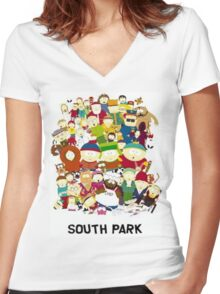 South Park Women's Fitted V-Neck T-Shirt
