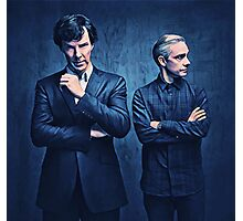Sherlock and John Photographic Print