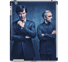 Sherlock and John iPad Case/Skin