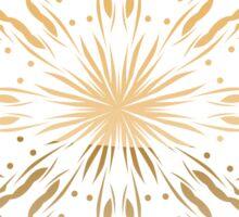 Red and Gold Mandala Sticker