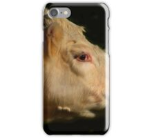 bovine affection - photograph iPhone Case/Skin
