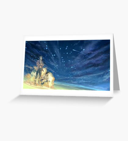 Ace and Marco One Piece Greeting Card