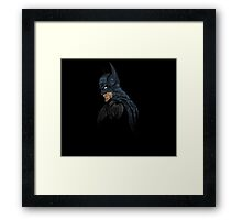 It's Not Who I Am Underneath... Framed Print