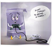 Towelie Poster