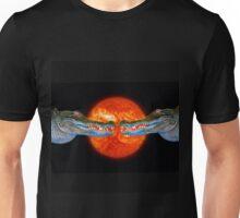 Aligator catching Rays Unisex T-Shirt