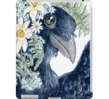 Crow Selfie iPad Case/Skin