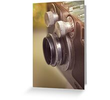 Universal Mercury II Camera - 1 Greeting Card