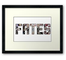 FATES Framed Print