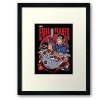 EVIL FLAKES Framed Print