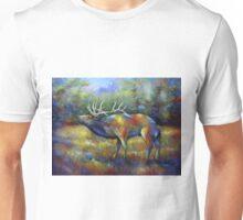 Colorado Elk Colorful Unisex T-Shirt