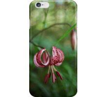Turkish lily iPhone Case/Skin