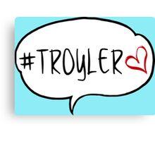 #TROYLER Canvas Print