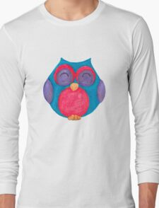 Callie the giggling owl Long Sleeve T-Shirt