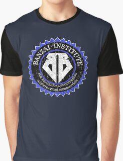 Buckaroo Banzai - Banzai insitute logo Graphic T-Shirt