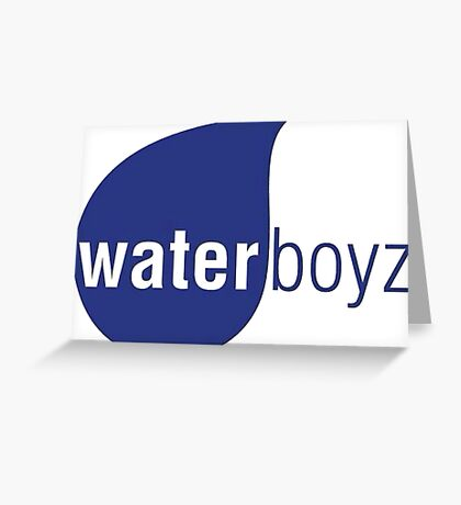 Waterboyz logo chris travis Greeting Card