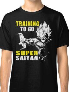 Training To Go Super Saiyan (Vegeta Hardcore Squat) Classic T-Shirt