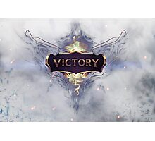 Victory / LoL Photographic Print