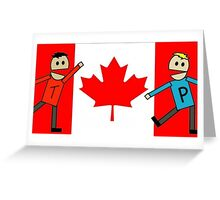 Canada South Park Greeting Card