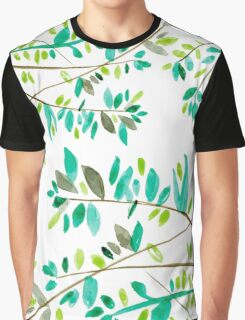 watercolor plants Graphic T-Shirt