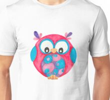 Delilah cute little owl Unisex T-Shirt