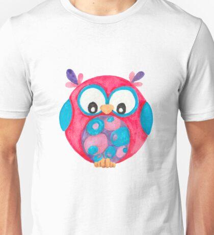 Delilah cute little owl Unisex T-Shirt