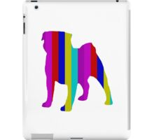 Stripy Pug Range iPad Case/Skin