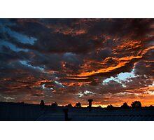 Perth Sunset Photographic Print