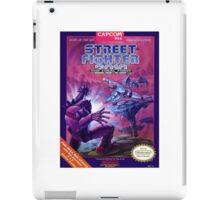 Street Fighter 2010 iPad Case/Skin