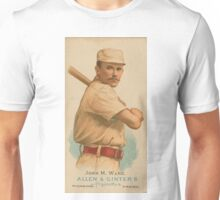 John M Ward - New York Giants - Vintage Baseball Card Unisex T-Shirt