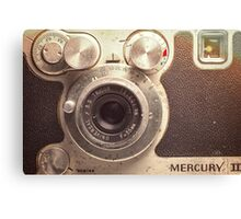Universal Mercury II Camera - 3 Canvas Print