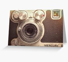 Universal Mercury II Camera - 3 Greeting Card