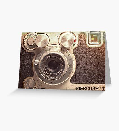 Universal Mercury II Camera - 3 Greeting Card