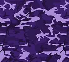 Purple Camo Pattern by sale