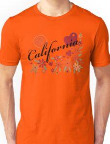 CALIFORNIA LOVE - CALIFORNIA HEART Unisex T-Shirt